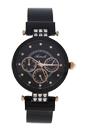 AL0704-08 Black Stainless Steel Mesh Bracelet Watch by Antoneli for Women - 1 Pc Watch