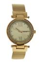 AL0500-04 Gold Stainless Steel Mesh Bracelet Watch by Antoneli for Women - 1 Pc Watch