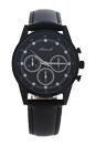 AL5300-03 Black Leather Strap Watch by Antoneli for Women - 1 Pc Watch