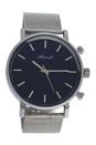 AG6182-08 Silver Stainless Steel Mesh Bracelet Watch by Antoneli for Women - 1 Pc Watch