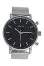 AG6182-06 Silver Stainless Steel Mesh Bracelet Watch by Antoneli for Women - 1 Pc Watch