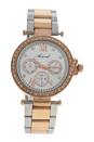 AL0519-03 Silver/Rose Gold Stainless Steel Bracelet Watch by Antoneli for Women - 1 Pc Watch
