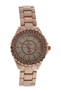 2033L GPGP Rose Gold Stainless Steel Bracelet Watch by Kim & Jade for Women - 1 Pc Watch