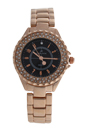2033L-GPB Rose Gold Stainless Steel Bracelet Watch by Kim & Jade for Women - 1 Pc Watch