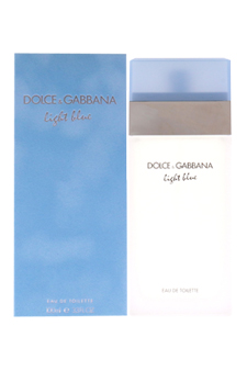 Light Blue by Dolce & Gabbana for Women - 3.4 oz EDT Spray