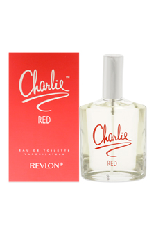 Charlie Red by Revlon for Women - 3.4 oz EDT Spray