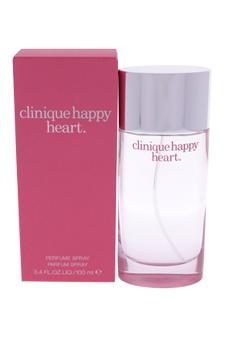 Clinique Happy Heart women 3.4oz Parfum Spray