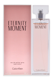 Calvin Klein Eternity Moment women 3.4oz EDP Spray