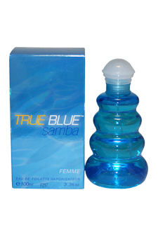 Perfumers Workshop - Samba True Blue EDT Spray 3.4 oz (Women's) - Bottle