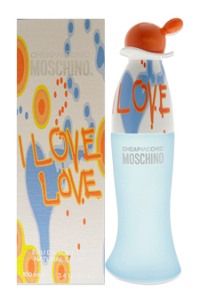 I Love Love Cheap And Chic by Moschino for Women - 3.4 oz EDT Spray