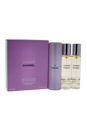 Chance by Chanel for Women - 3 X 0.7 oz EDT Twist and Spray