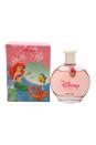 Disney Princess Little Mermaid Ariel by Disney for Kids - 3.4 oz EDT Spray (with Charm)