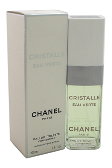 Cristalle Eau Verte by Chanel for Women - 3.4 oz EDT Spray Concentree