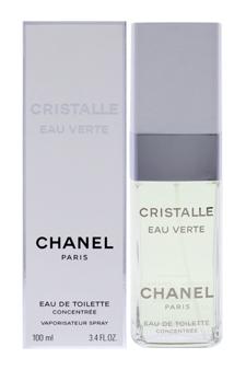 Chanel Cristalle Eau Verte women 3.4oz EDT Spray