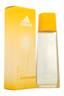 Adidas Free Emotion women 1.7oz EDT Spray
