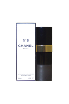 Chanel No. 5 by Chanel for Women - 1.7 oz EDT Rechargeable Refillable Spray