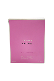 Chanel Chance Eau Tendre women 3.4oz EDT Spray