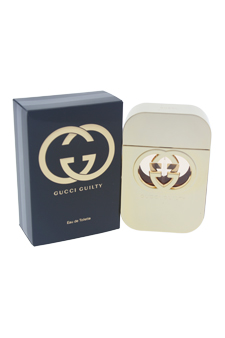 Gucci Guilty by Gucci for Women - 2.5 oz EDT Spray