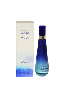 Cool Water Wave by Davidoff for Women - 1 oz EDT Spray