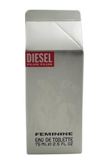Diesel Plus Plus by Diesel for Women - 2.5 oz EDT Spray