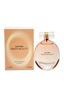 Calvin Klein Sheer Beauty women 1.7oz EDT Spray