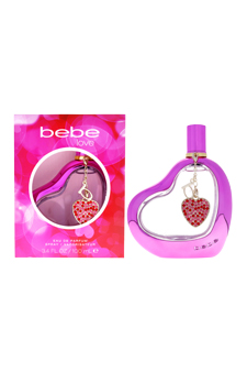 Bebe Love by Bebe for Women - 3.4 oz EDP Spray