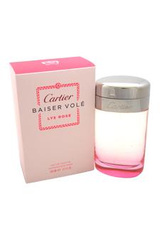 Cartier Baiser Vole Lys Rose women 3.3oz EDT Spray
