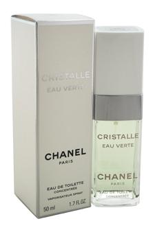 Chanel Cristalle Eau Verte women 1.7oz EDT Spray