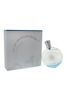 Eau Des Merveilles Bleue by Hermes for Women - 1.6 oz EDT Spray