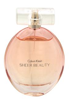 Calvin Klein Sheer Beauty women 3.4oz EDT Spray (Unboxed)
