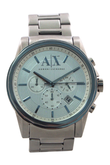 Armani Exchange AX2058 Chronograph Stainless Steel Bracelet Watch 1 Pc Watches